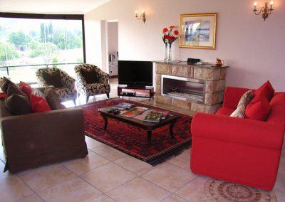 Fireplace-sitting